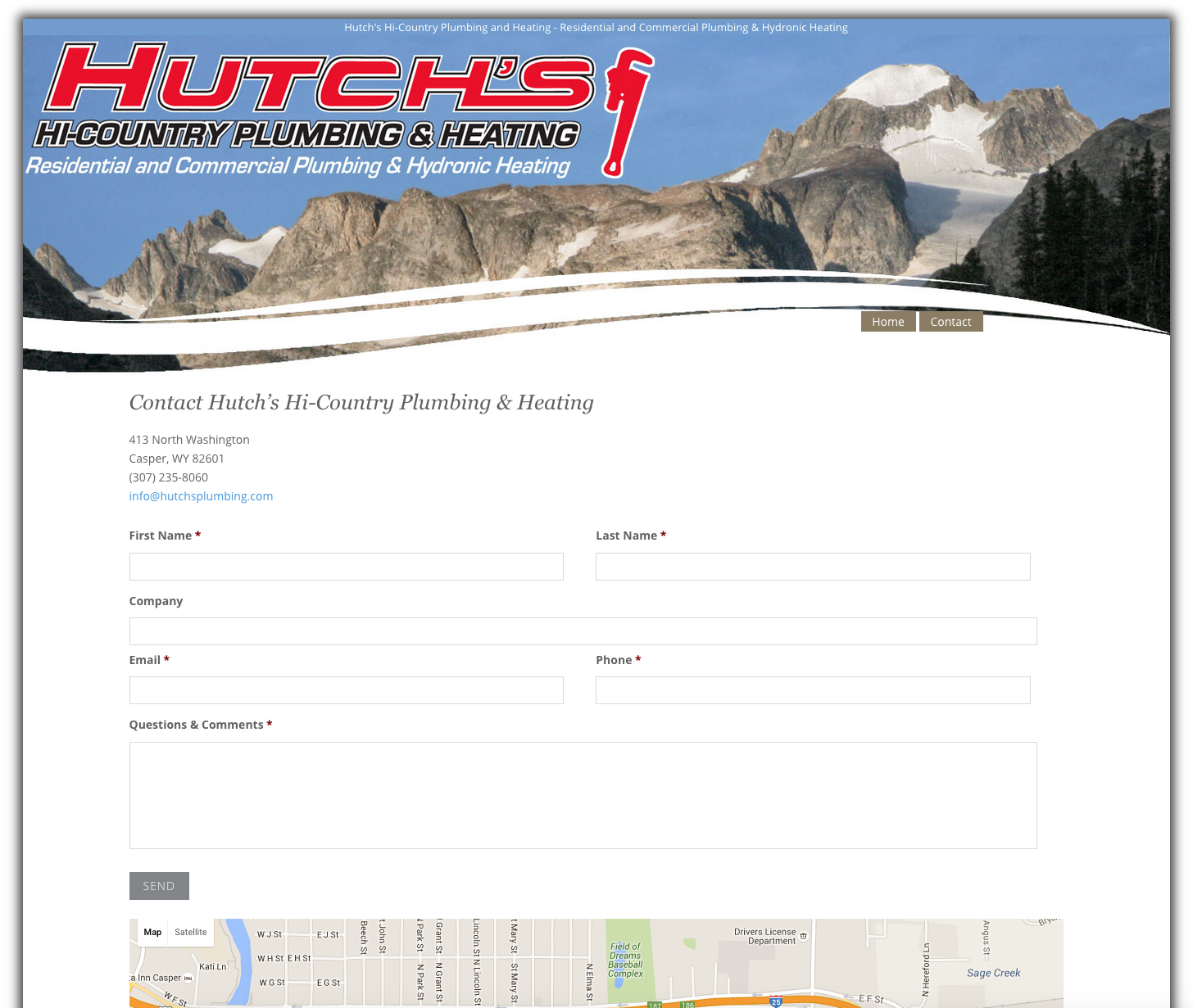 Hutch's Hi-Country Plumbing & Heating